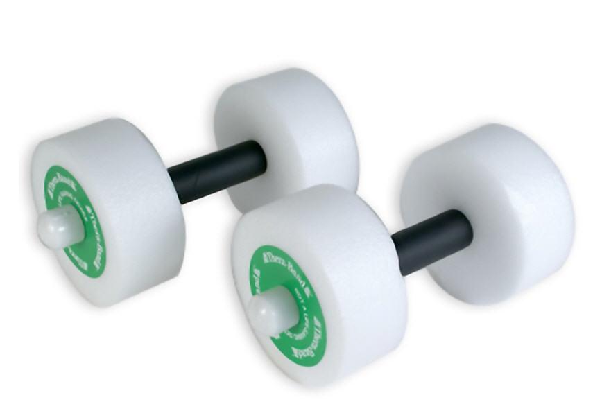 Thera-Band Aquatic Padded Hand Bars (1-Pair) Medium - Fast FREE Shipping!!!