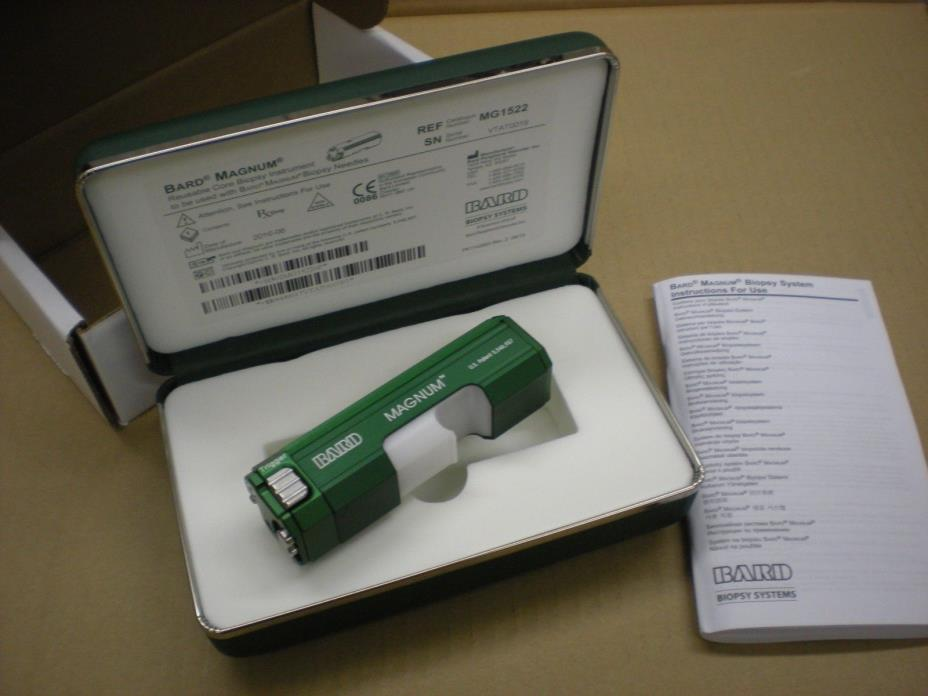 Bard Magnum Reusable Core Biopsy System - New