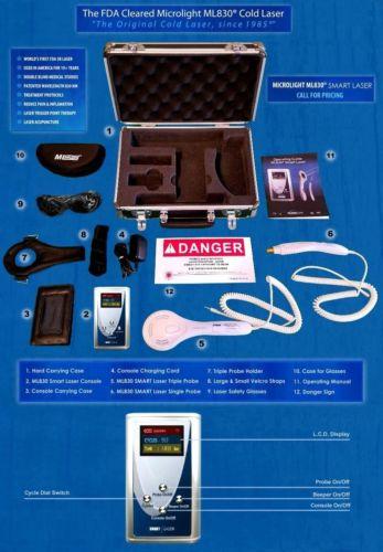 Microlight ML830 Cold Laser system machine