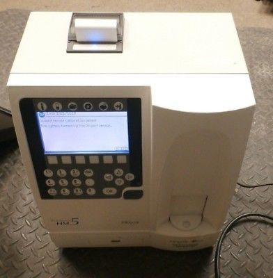 FOR PARTS SPECIAL!! Vetscan HM5 Abaxis Veterinary hematology analyzer