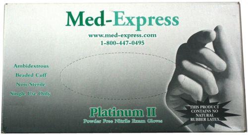 Platinum Powder-Free Nitrile Gloves - Small