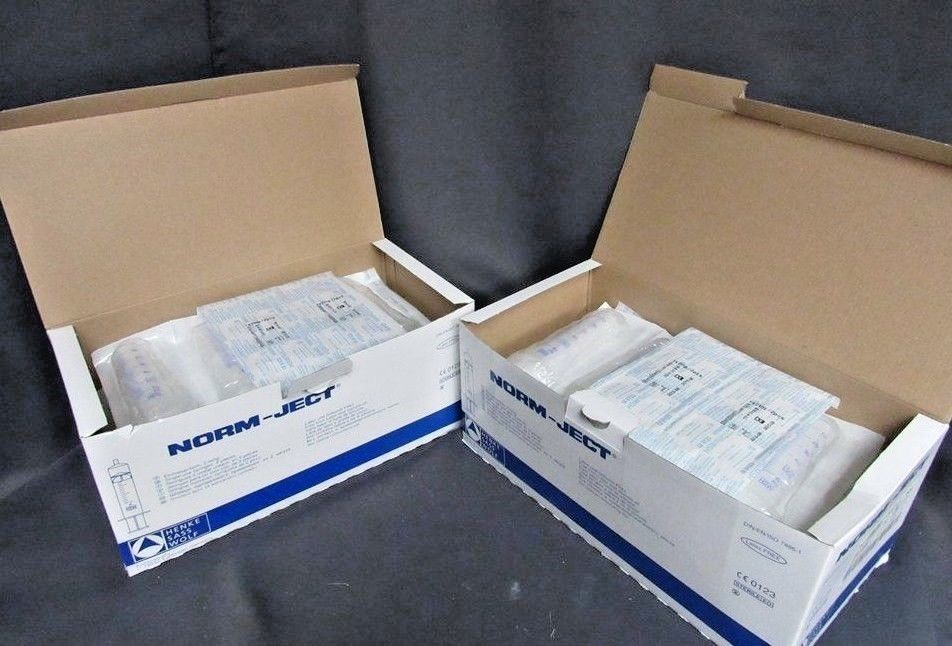 Norm-Ject 50ml (60 ml) Syringe Luer Lock 4850003000 Sterile Lot of 2 Boxes