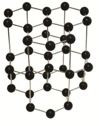 Pre-assembled Molecular Model Set: Graphite Crystal