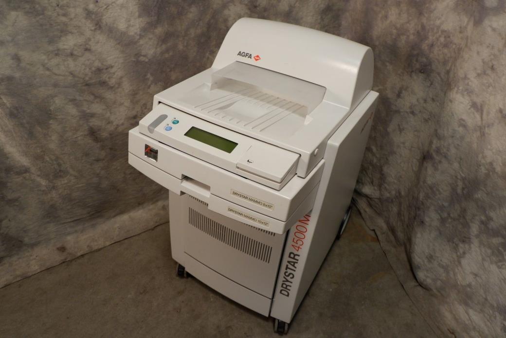 AGFA Drystar 4500M Mammo Dry Imaging Printer