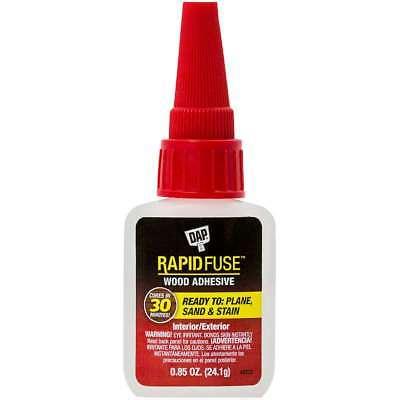 DAP Rapid Fuse Wood Glue .85oz Clear 070798001565