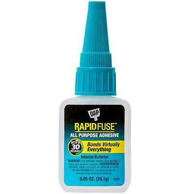 DAP Rapid Fuse All Purpose Glue .85oz Clear 070798001558