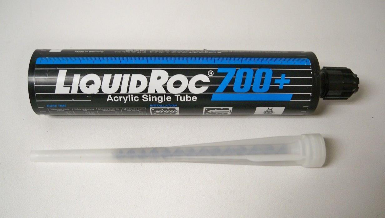 MKT Anchor Bolt Fastening 700+ Liquid Roc Acrylic Single Tube 10oz 7620010