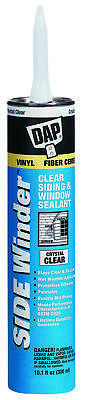 Side Winder 816 Siding and Window Sealant, 10.1 oz, Cartridge, Crystal Clear,