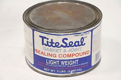 Tite-Seal Gasket & Joint Sealing Compound 5 lb T20-75 T2075 Radiator Specialty