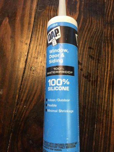 Dap 08641 Clear Silicone Sealant 9.8Ounce