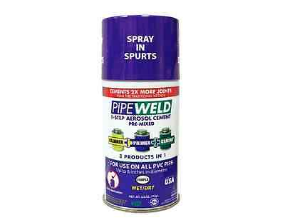 PipeWeld 5.5 oz. PVC All-In-One Pipe Cement Adhesive *New*