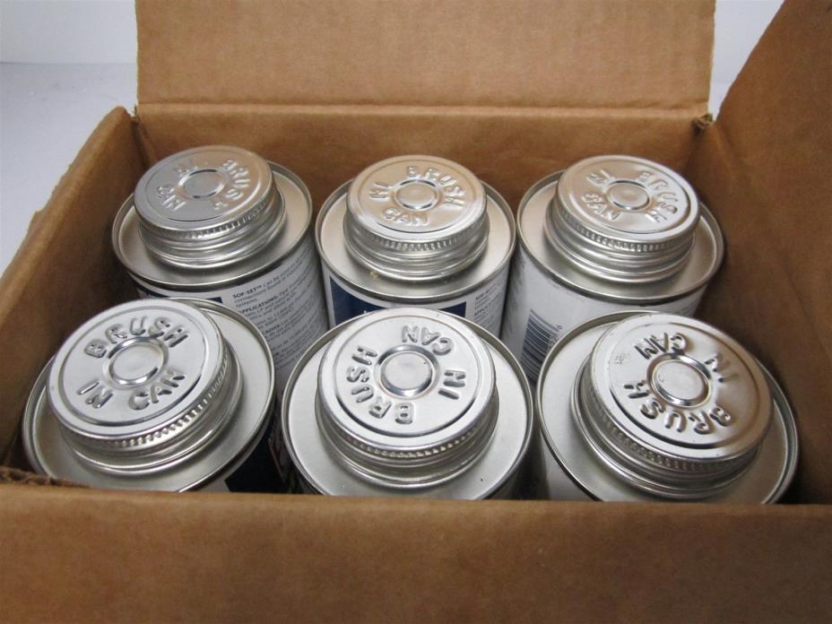 (6) Anti-Seize 29010 Brush Top Can 8 oz Pipe Thread Sealant 24 hr Cure