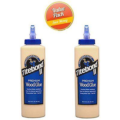 Franklin 5004 Wood Glue II Premium 16-oz Bottle(pack Of 2)