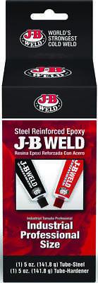 J-b Weld Professional 2-Part Weld Epoxy, 10 oz, Tube, Dark Gray/Black, Paste