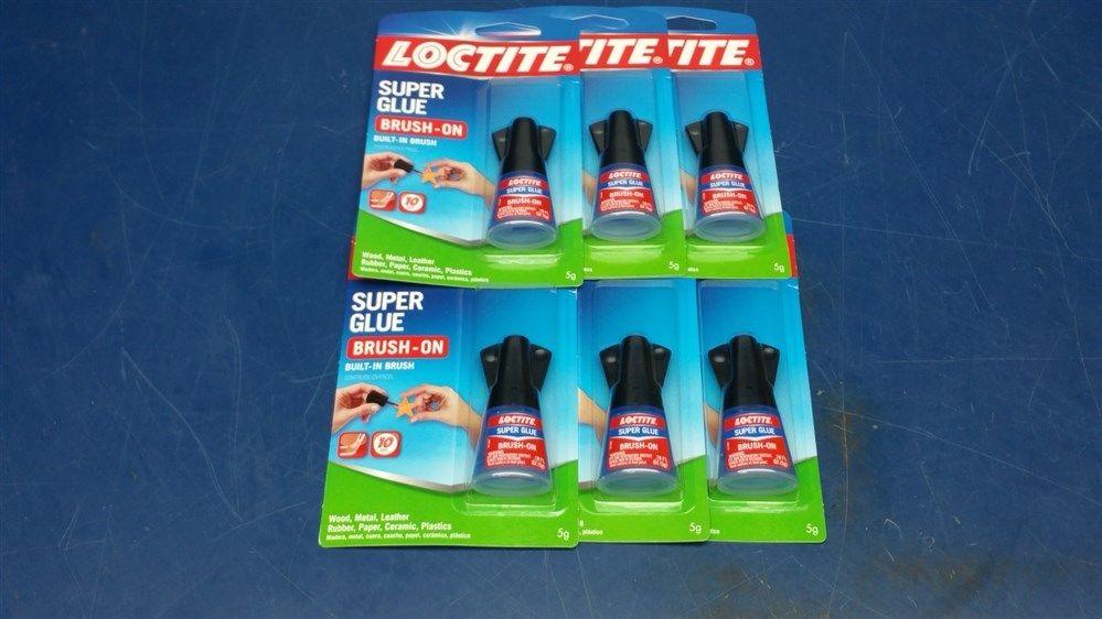 (12 Tubes) Loctite Brush-On Super Glue (.18 oz. ea.) 1703904
