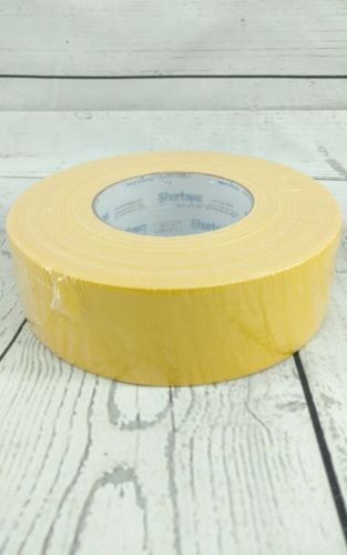 New Shurtape Industrial Grade YELLOW Duct Tape 1.88in x 60yd 48mm x 55m