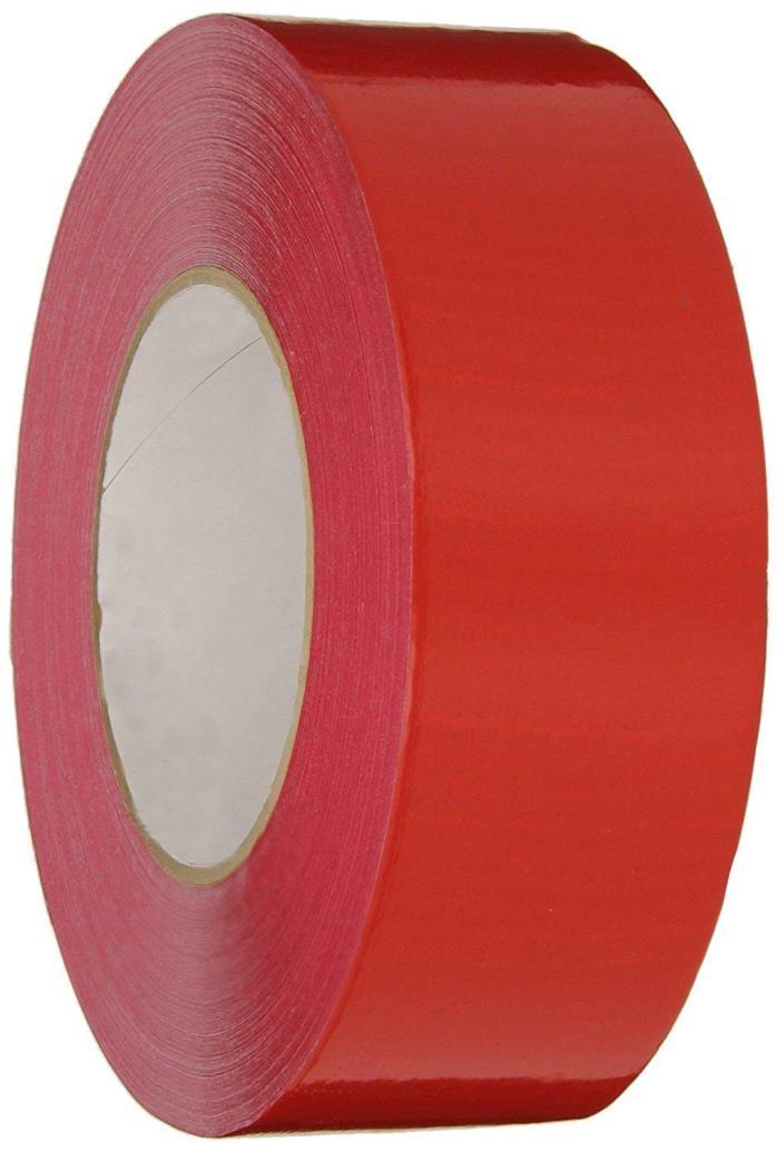 Nashua 2280 Polyethylene Coated Cloth Multi-Purpose Duct Tape, 55m x 72mm - RED
