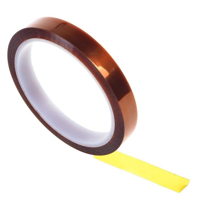 BCP Kapton Polyimide High Temp Tape with Silicone Adhesive 1/2