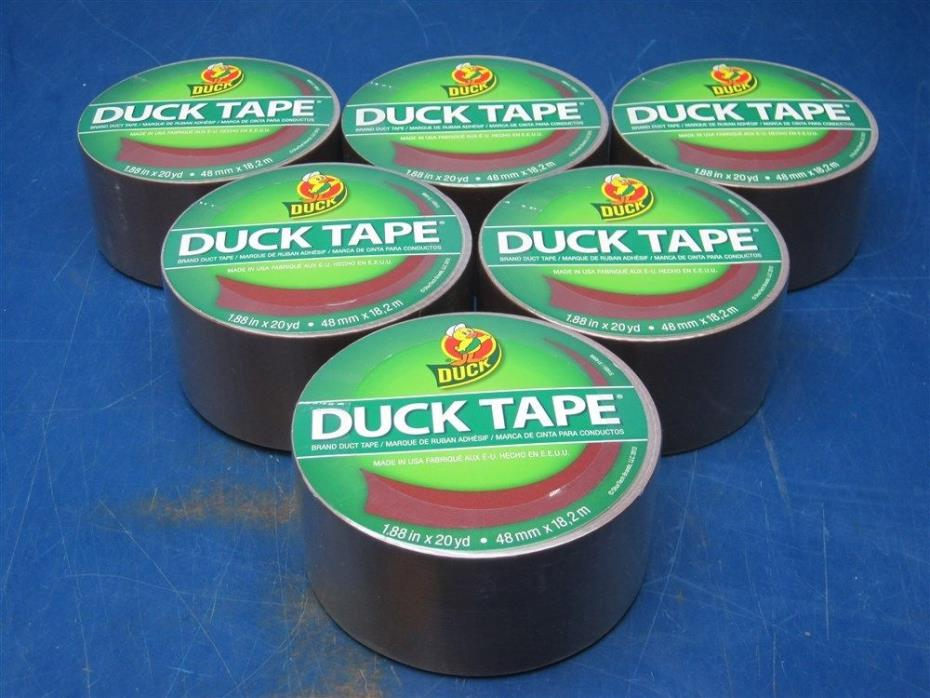 Lot of 12 - Rolls Duck Tape Brand BROWN 1.88