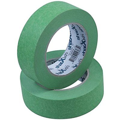 Masking Tape 24-Units Per Box Green For Automotive Car And Home Painting Leaves