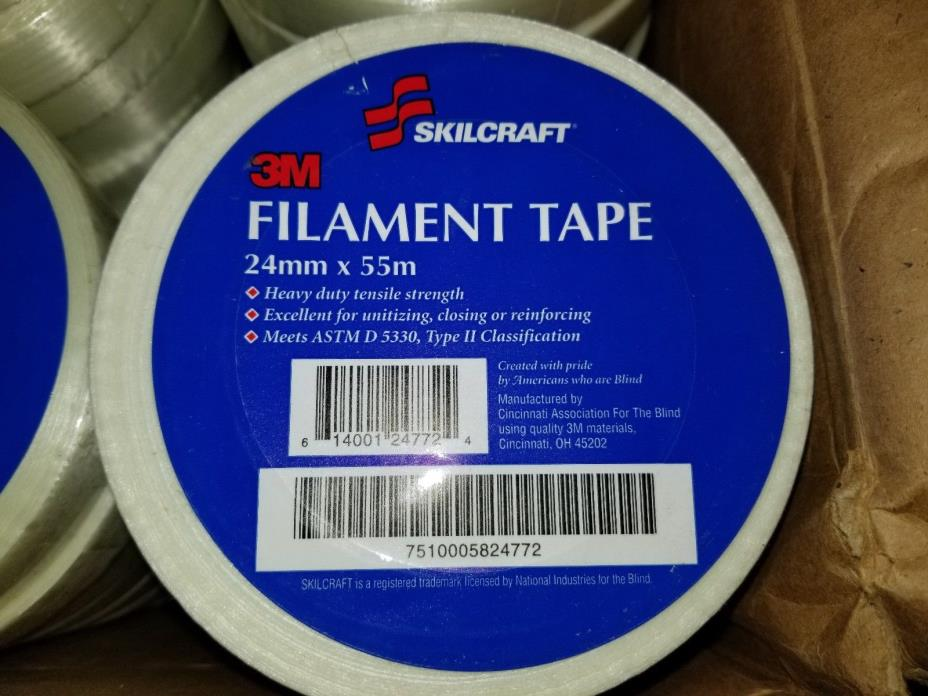 36 Pack Filament Tape Reinforced 1