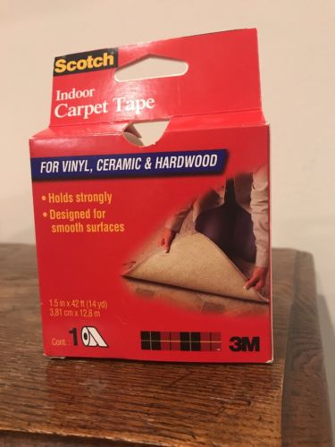 3M CT2010 Double Sided Heavy-Duty Indoor Carpet Tape New