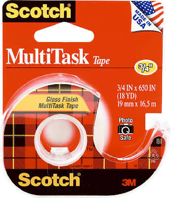 Scotch Household Tape, Clear, .75 X 650