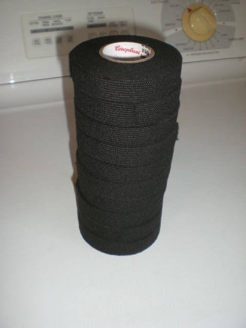10 Roll COROPLAST 8575X Car Wire Harness Adhesive Electrical Tape 19mmX5m FLEECE