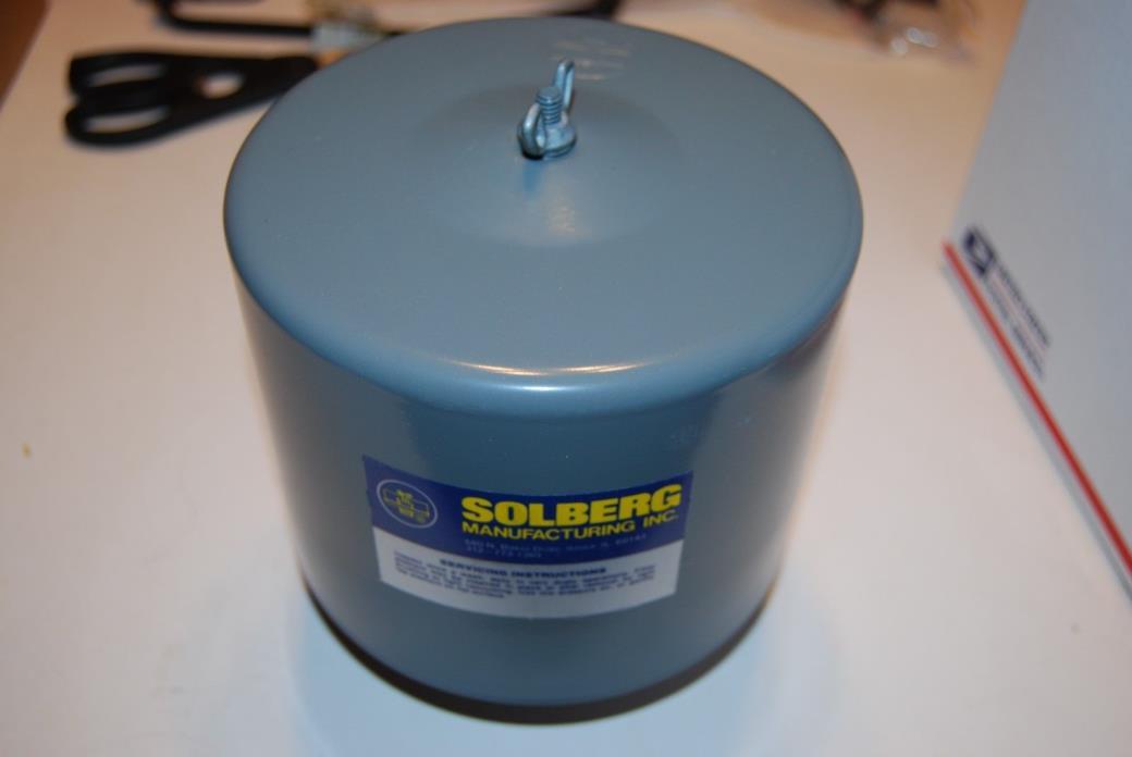 4Z681 SOLBERG FILTER SILENCER 1 1/4
