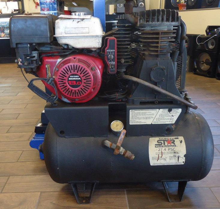 (RI2) North Star 27.4 PSC Gas Powered Air Compressor - LOCAL PICK-UP ONLY