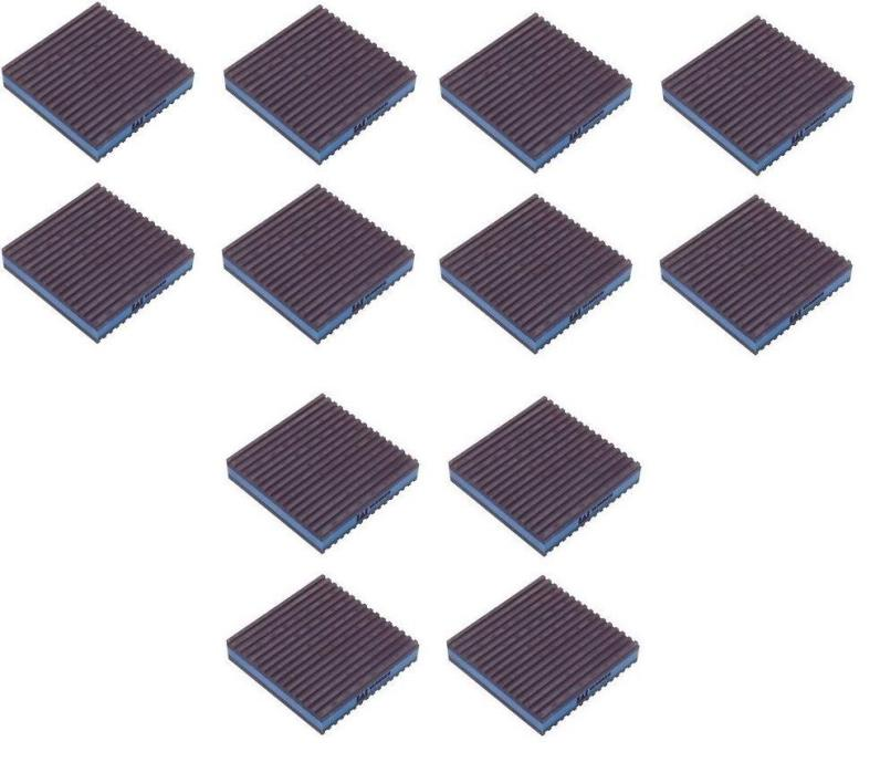 Lot of 12 Anti Vibration Pads Audio Dampener 2x2x7/8 Diversitech MP-2E Isolation