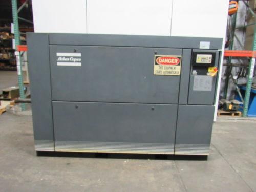 Atlas Copco GA 30-75 75HP Rotary Screw Air Compressor 139PSI 460V