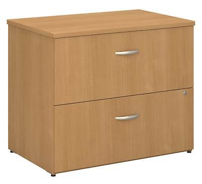 Lateral File Cabinet in Light Oak - Series C [ID 2496]
