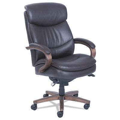 La-Z-Boy Woodbury High-Back Executive Chair Brown 48962B