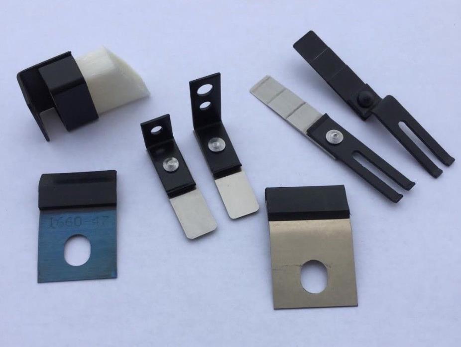KBA, Heidelberg, sheet separators-Hickey pickers-wash blades