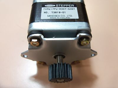Japan Servo DC24V 1.5A MOTOR (BH60FT21-01) #4508F  / 1E4ZB8001A 12 pin connector