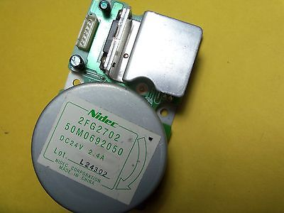 NIDEC DC24V MOTOR (50M0692050) for printers (6-pin connector) 2FG2702