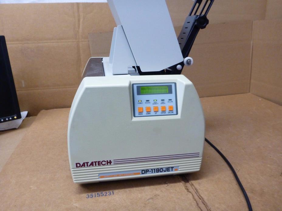 datatech PANASONIC DP-1190JET MAILING INKJET PRINTER SANWA NEWTEC