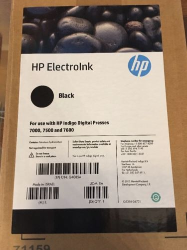 HP ElectroInk Black Q4085A