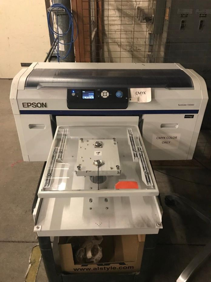 Epson SureColor F2000 DTG Color Edition Printer - RUNS PERFECT