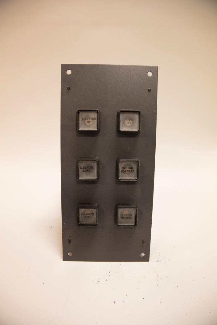 HP INDIGO 3050 ELEVATOR CONTROLS