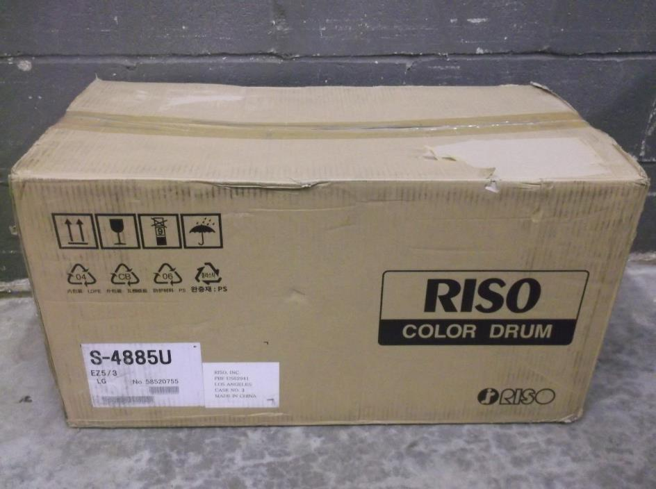 NEW IN THE BOX Riso EZ390 EZ391 EZ590 EZ591 Duplicator Drum Part # S4885 S4485U
