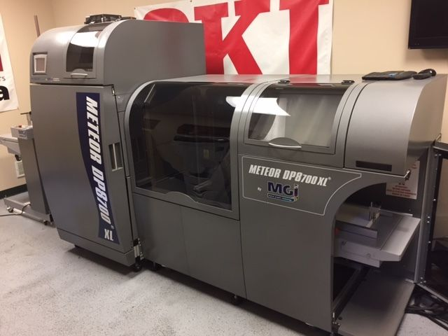 MGI Meteor DP8700 XL Digital Press Xerox HP Konica Minolta