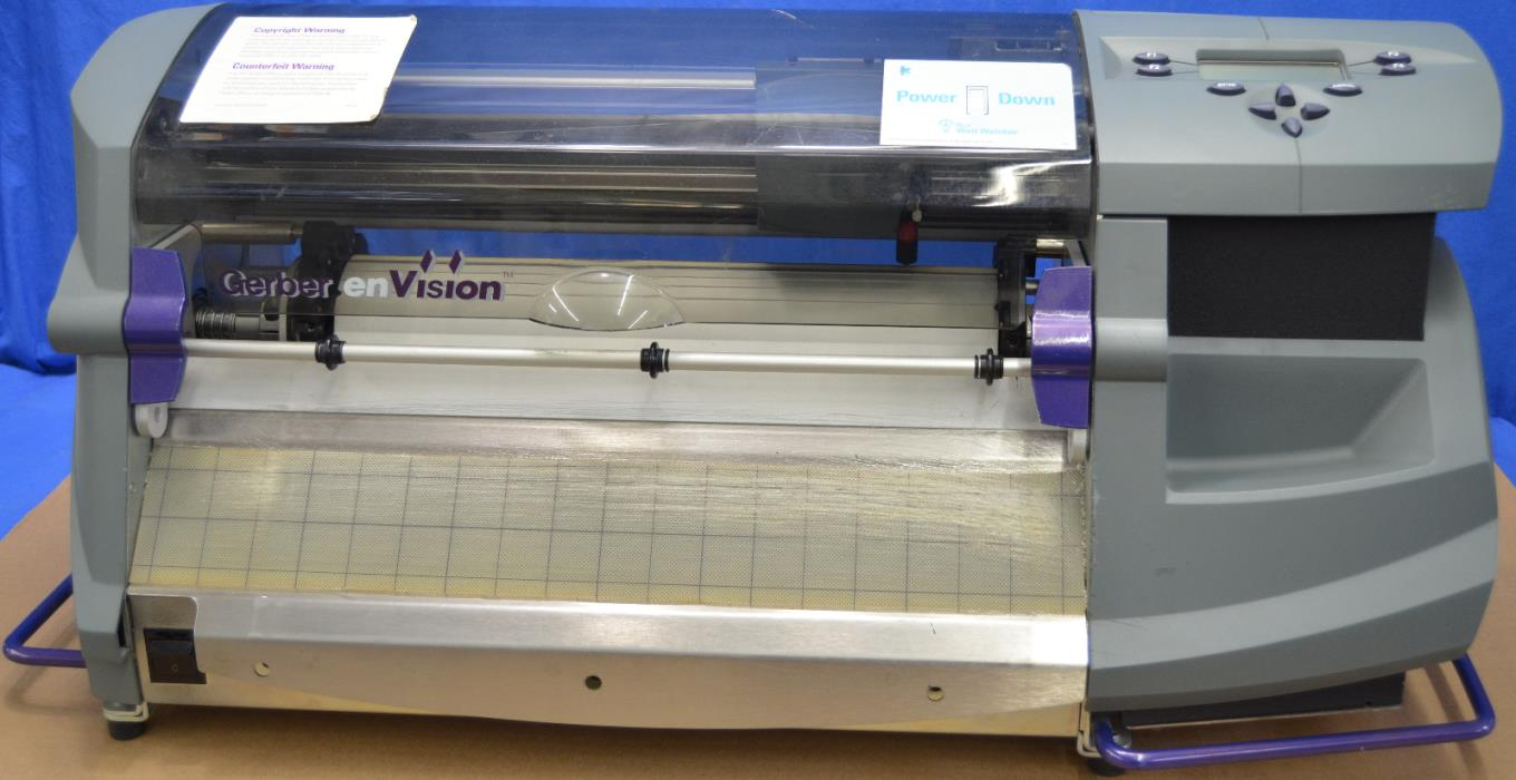 Gerber Edge Plotter - Classifieds