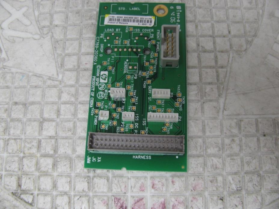 HP C7769-60360 DesignJet 500 800 800PS Plotter Interconnect Board