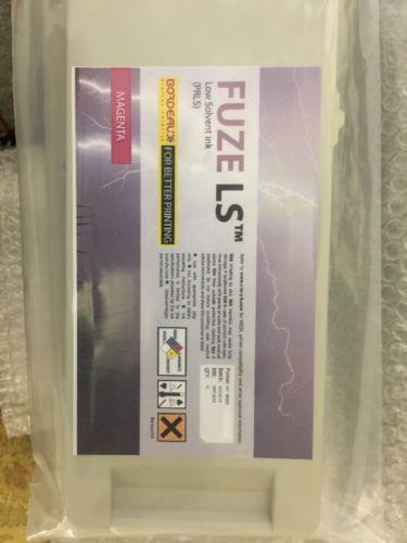 Bordeaux Fuze LS Ink Magenta Hp 9000 expiration 09/2015