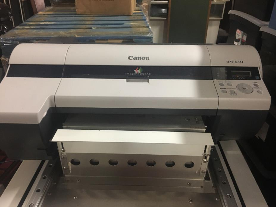Canon iPF510 Large Format Inkjet Printer