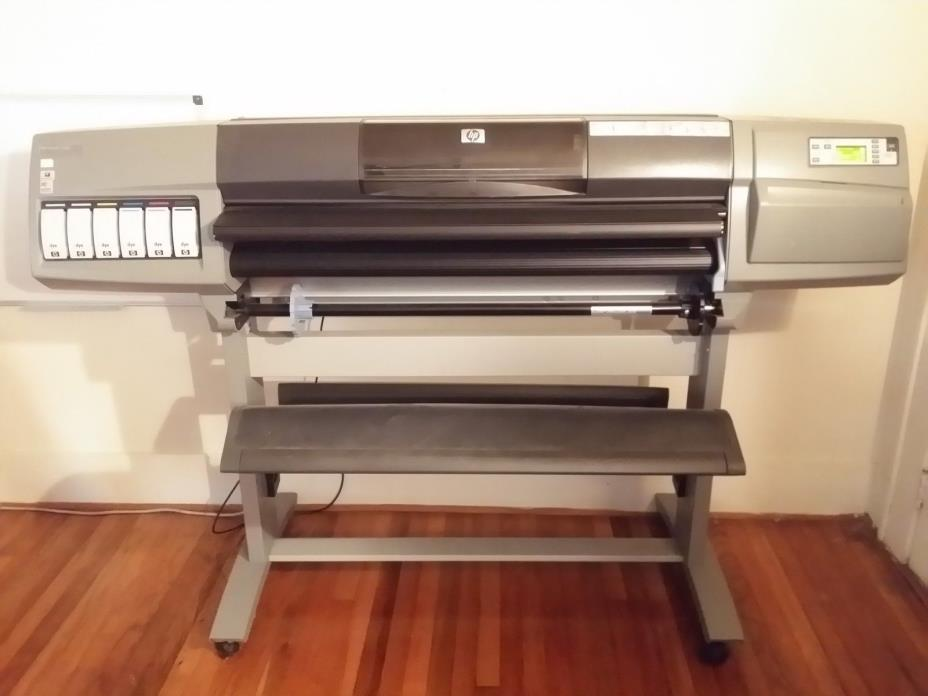 HP Designjet 5500ps 60 inch wide format printer plotter