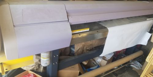 used Mimaki JV4 Large Format Digital Printer needs maintenance dye sublimation