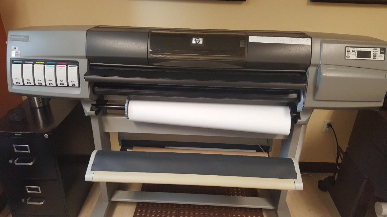 HP Designjet 5500PS Wide Format Color Printer